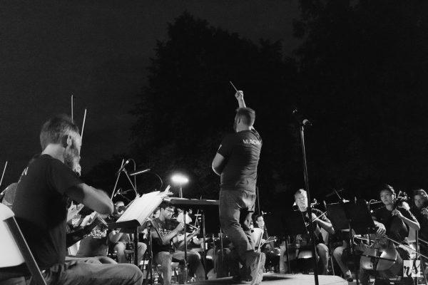 Evening Under the Stars concert at Sherwood Park